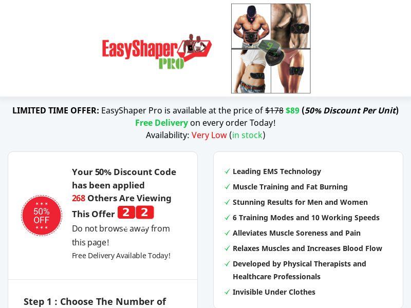EasyShaper PRO - Best Deal Today