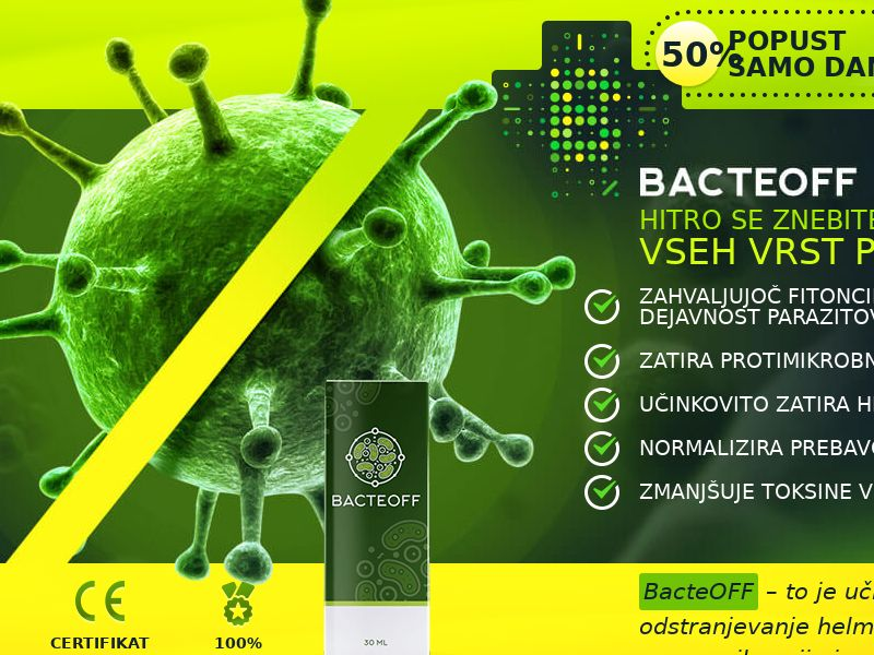 BacteOFF SI - anti-parasite product