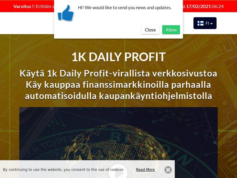 1k Daily Profits Finnish 2267
