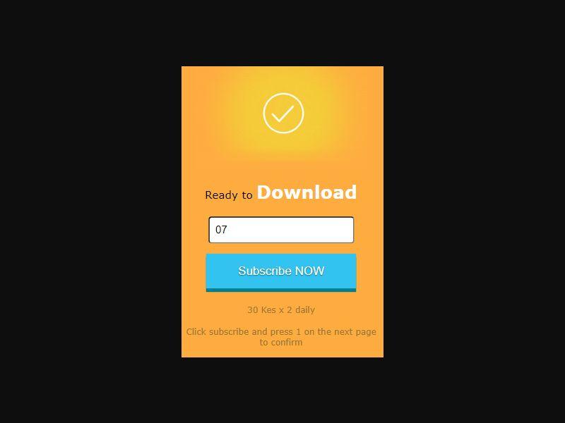 Kenya Download Now (Safaricom only) [KE] - 2 click