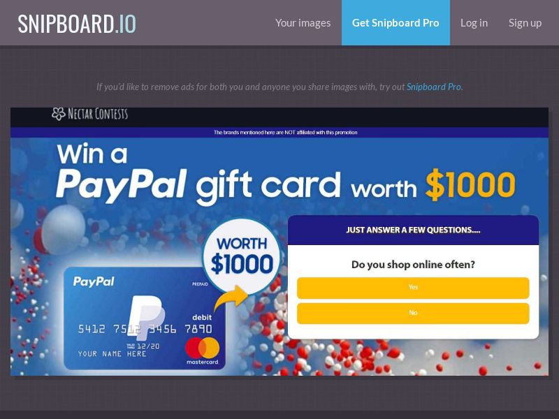 37776 - AU - NectarContests - Paypal (With Prelander) - SOI