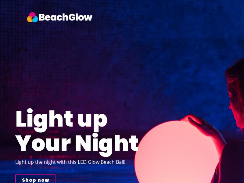Glowing Beachball [INTL] (Email,Social,Banner,Native,Push,SEO,Search) - Revshare