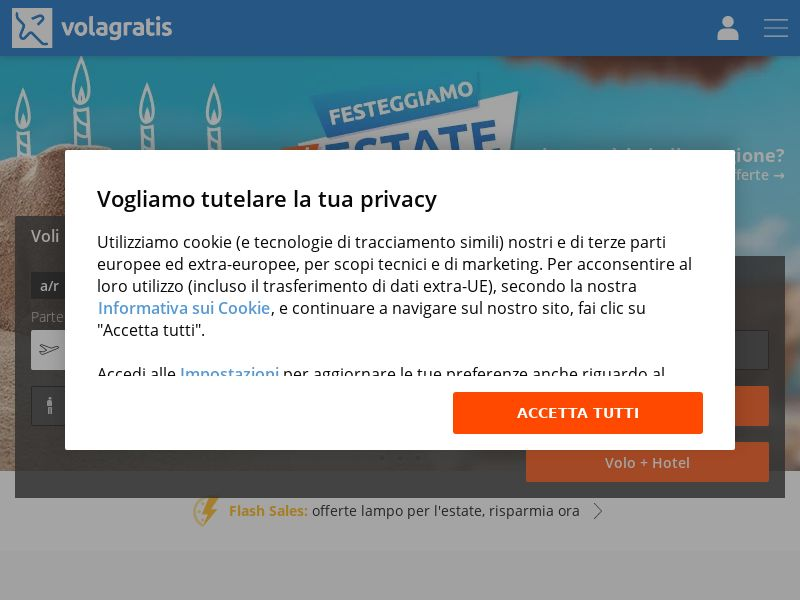 Volagratis - IT (IT), [CPS]