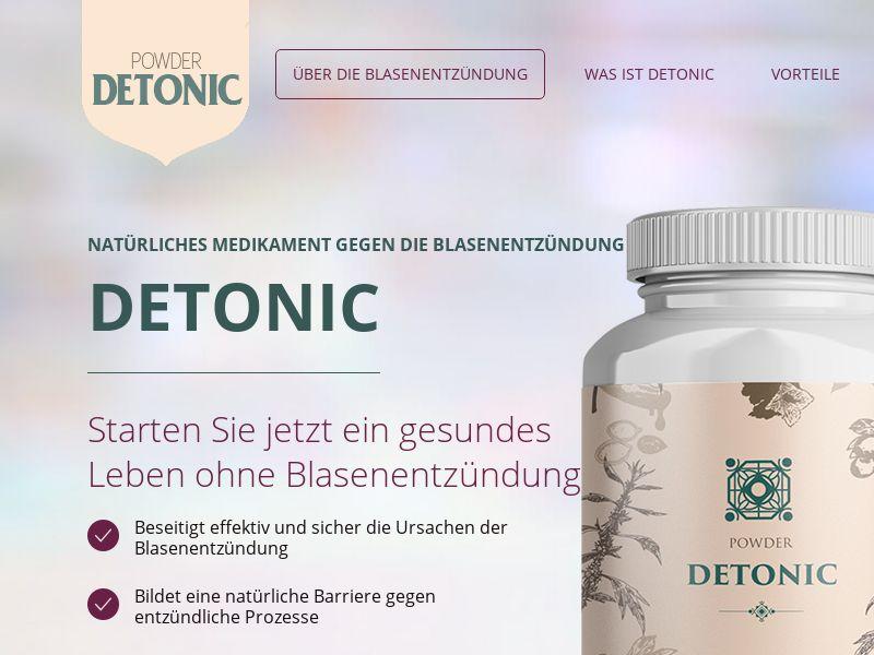 Detonic DE (cystitis)