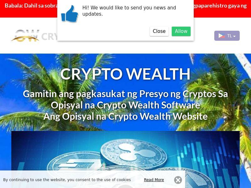 Crypto Wealth Filipino 3917