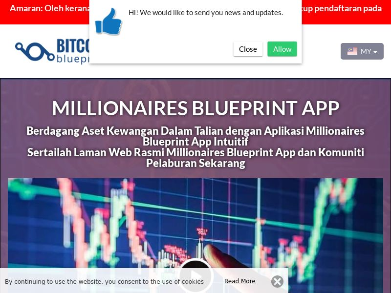 Millionaires Blueprint App Malay 3235