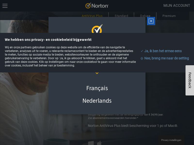 Norton 360 Antivirus Plus - INTL - Non-Incent (CPS) (Personal Approval)