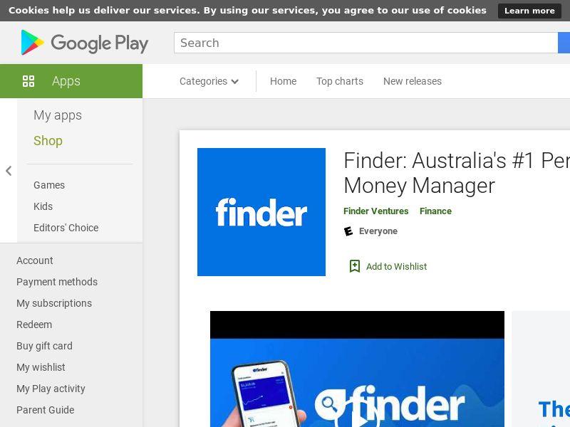 Finder (Android, AU) (CPR=signup)