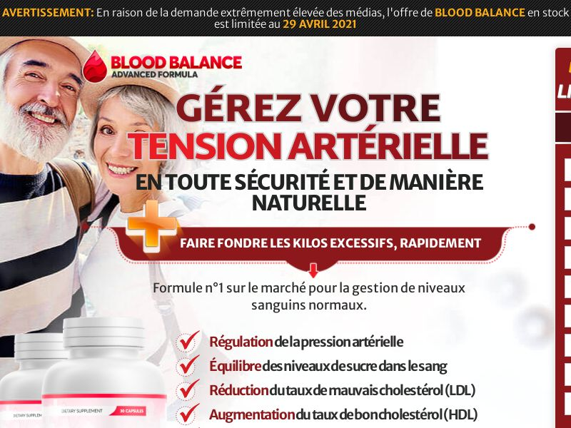 FR | Straight Sale | Blood Balance
