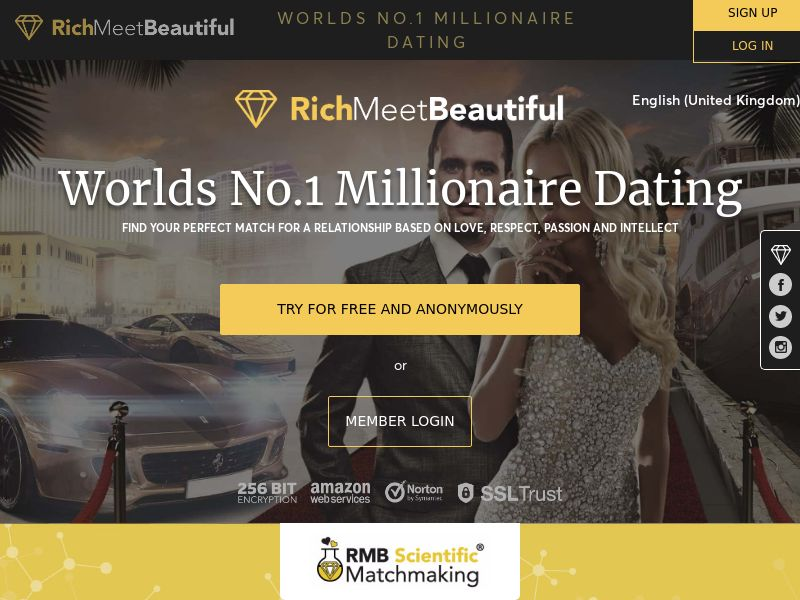 12057) [WEB] Rich Meet Beautiful - SE,CH,DK,FI,DE,Be,NL,NO,UK - CPA