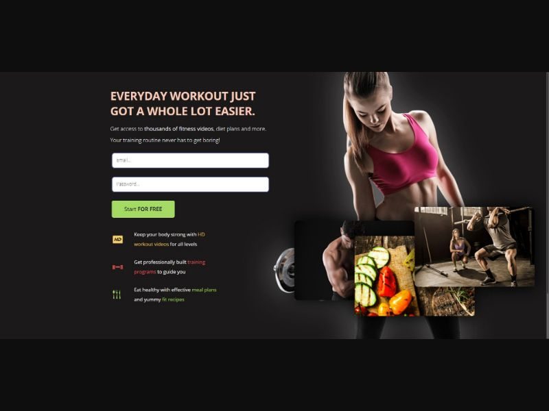 Spot Diets - Fitness - Trial - [CA]