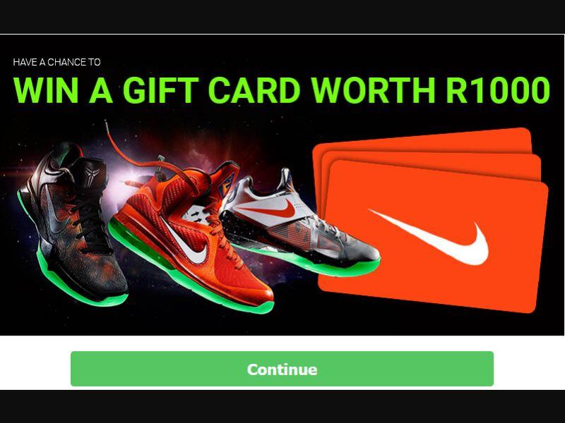 Freakapps Nike Voucher (ZA)