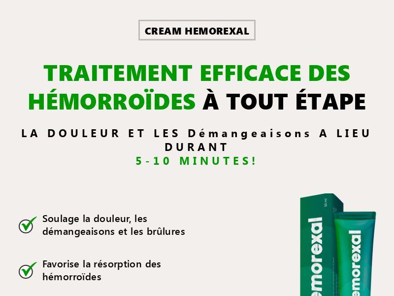 Hemorexal FR - hemorrhoids treatment