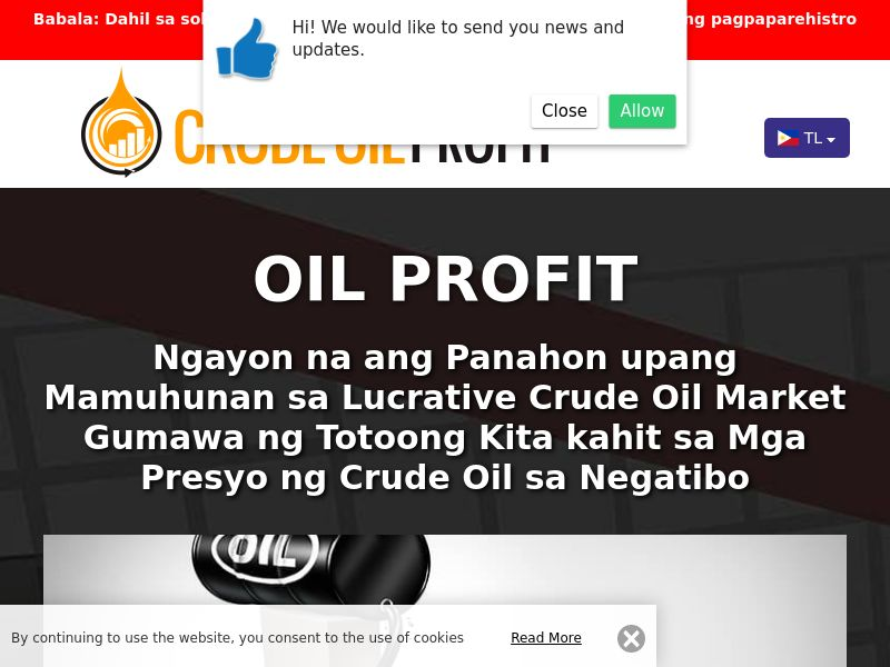 Oil Profit Filipino 3261