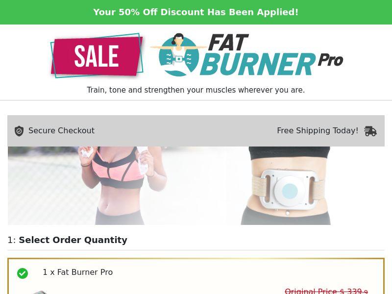 Fat Burner Pro (PPS) - eCommerce - WW
