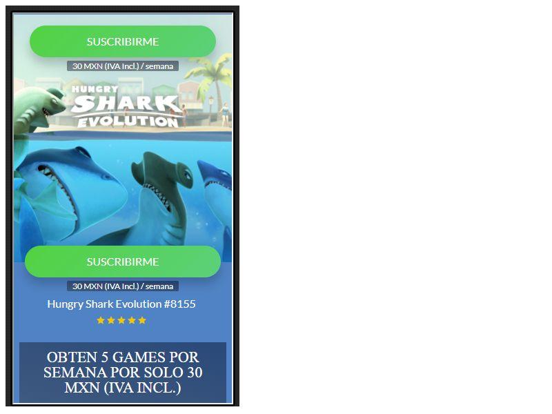 Hungry Shark Telcel