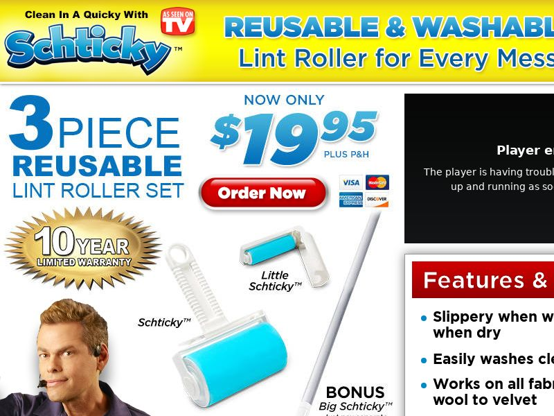 Schticky Roller - Email Only