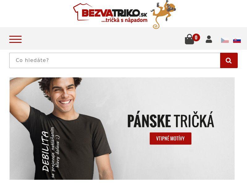 BezvaTriko.cz & BezvaTriko.sk (CZ,SK), [CPS]