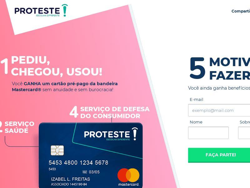 BR Proteste Prepaid Mastercard (CPA)