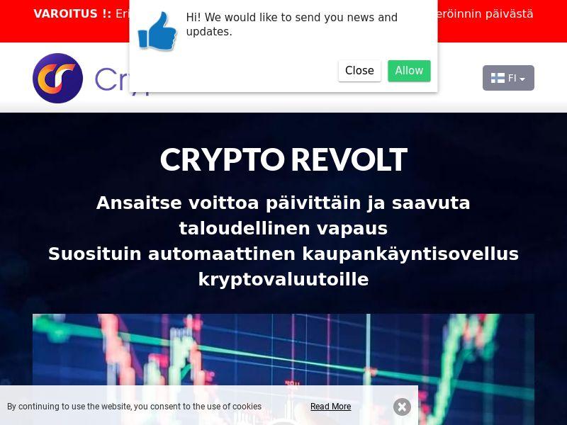 Crypto Revolt Finnish 2136