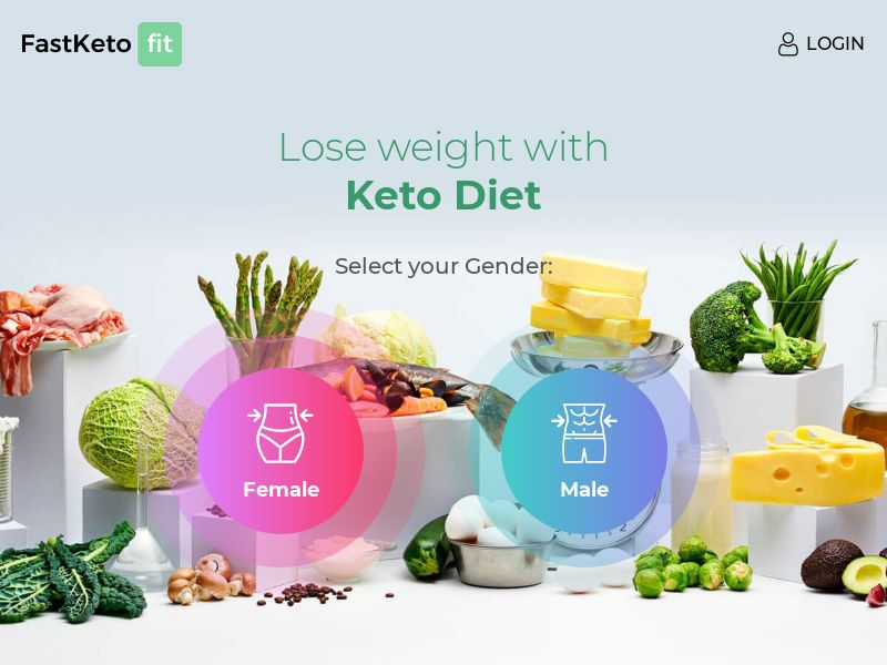 FastKeto Fit: Custom Keto Meal Plans for Weightloss - Quiz | Multi-Geo