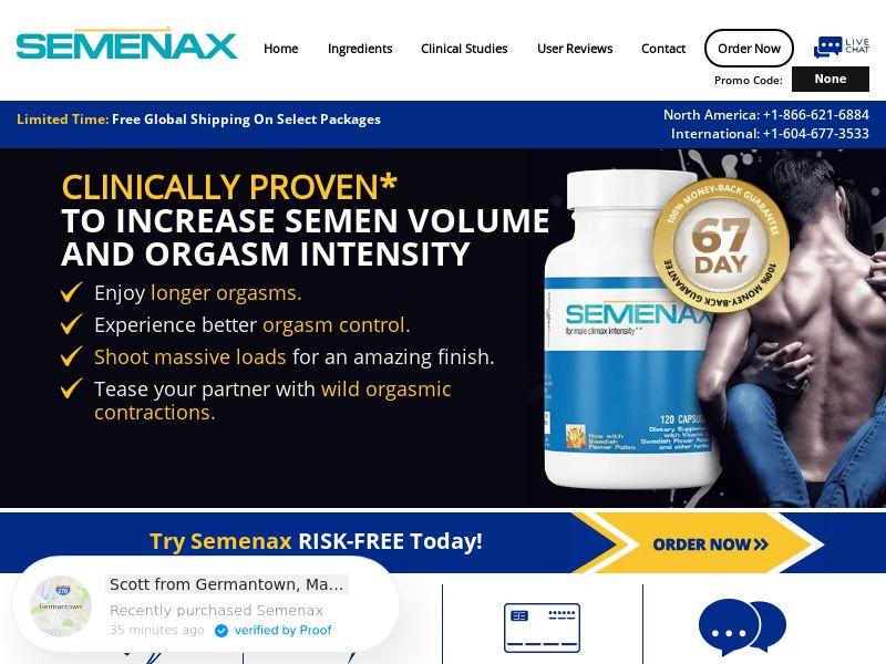Semenax SS - INTL (No PPC)