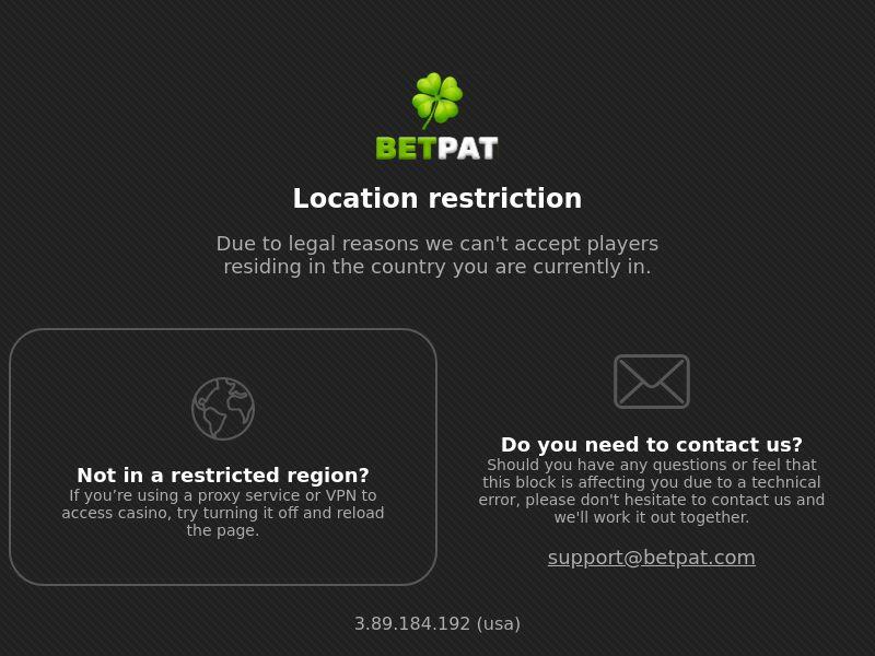 BetPat CPA 7 countries
