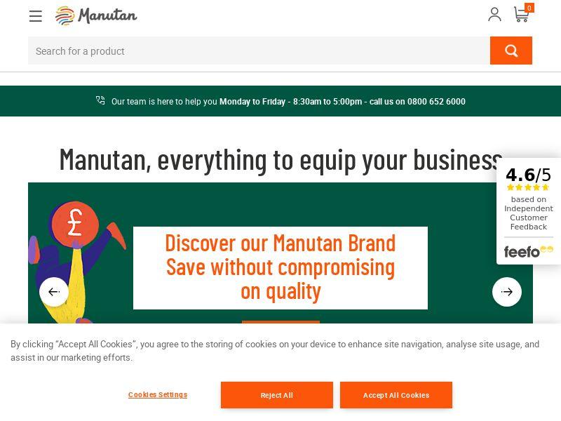 Manutan - UK (GB), [CPS]
