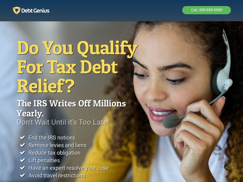 IRS Tax Debt Relief Inbounds Only US US | Pay Per Call Exclusive
