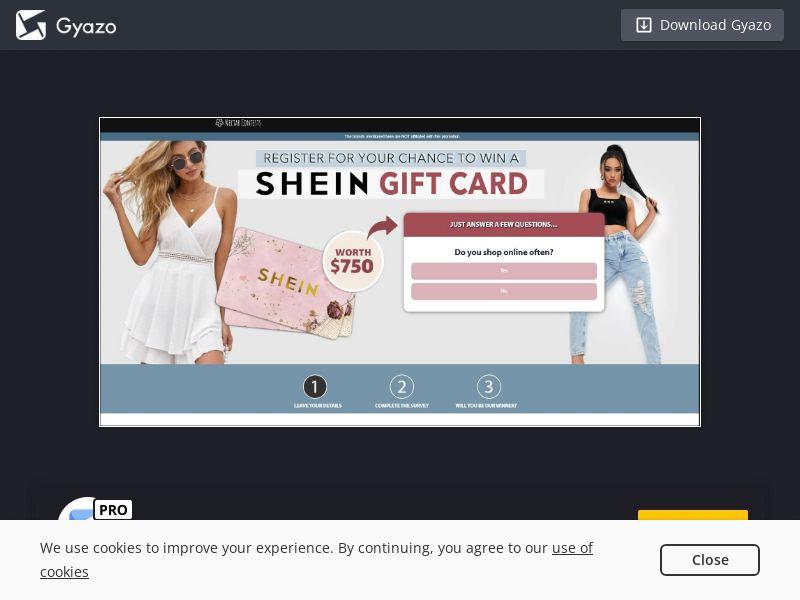 Shein Gift Card (AU) (CPL)
