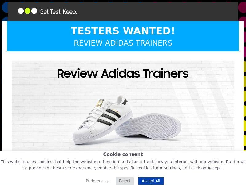 OX - Adidas trainers - UK