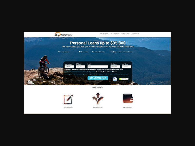 24/7 Installment Loans - RevShare (US)