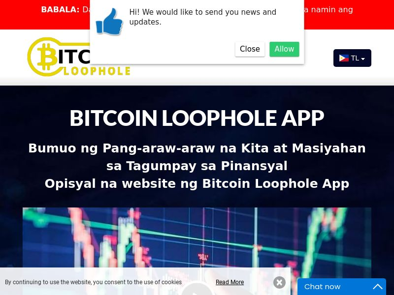 Bitcoin Loophole Pro Filipino 2075