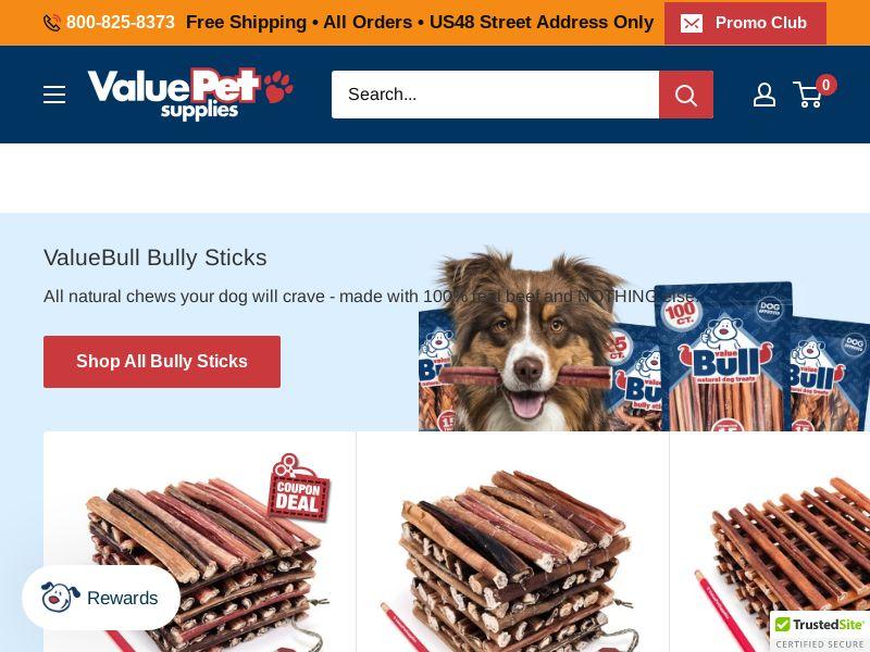 Value Pet Supplies - Pet Eshop - CPA - [INTERNATIONAL]