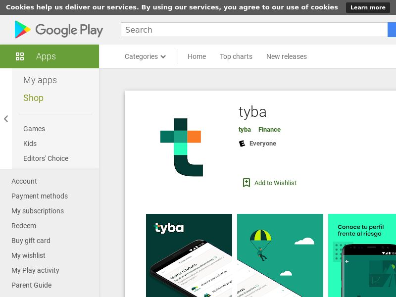 Tyba CO Android CPA