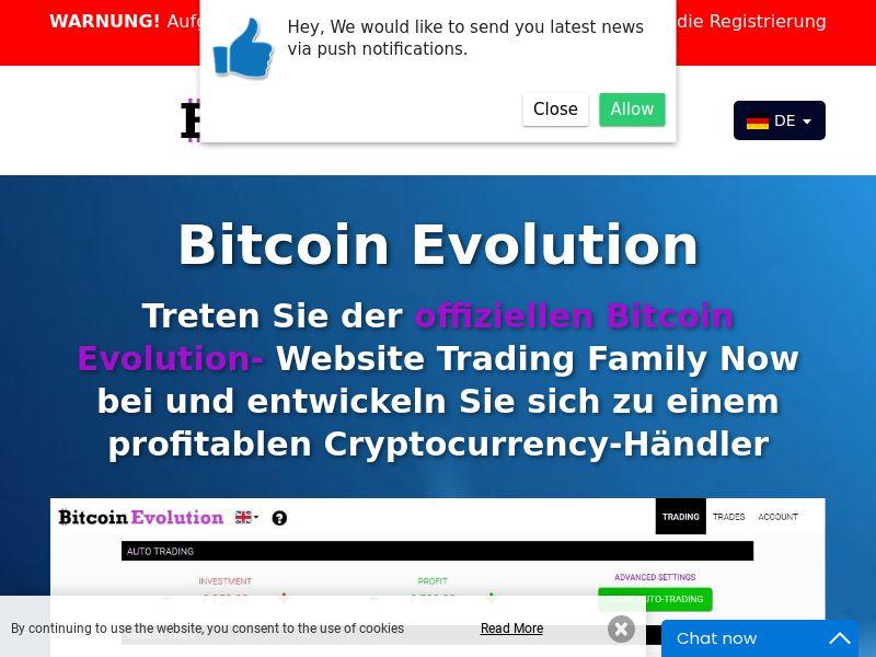 Bitcoin Evolution Pro - DE (DE), [CPA]