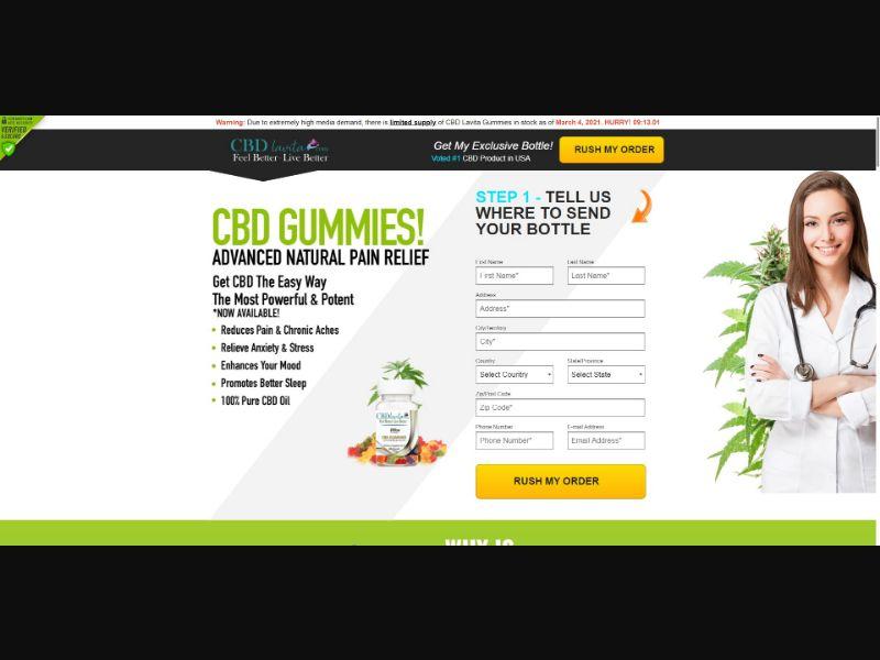 CBD LaVita Gummies - CBD - SS - [US]