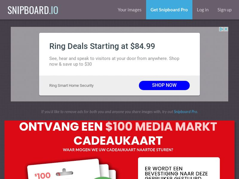 CoreSweeps - Media Markt Giftcard 100 USD SE - CC Submit
