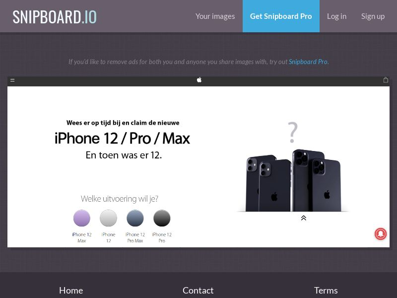 38180 - BE - NectarContests - iPhone 12 (dutch) (WithPrelander) - SOI