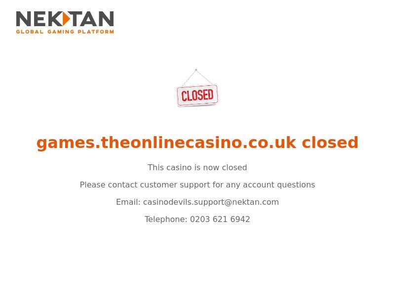 The Online Casino - Casino - CA, NZ, FI, DE, NO - (CPA)