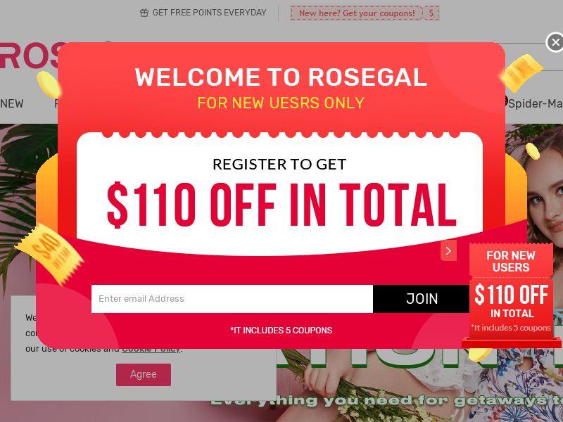 Rosegal WW