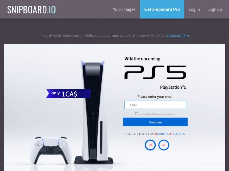38671 - CA - CreditSupport - Sony PlayStation 5 - CC submit