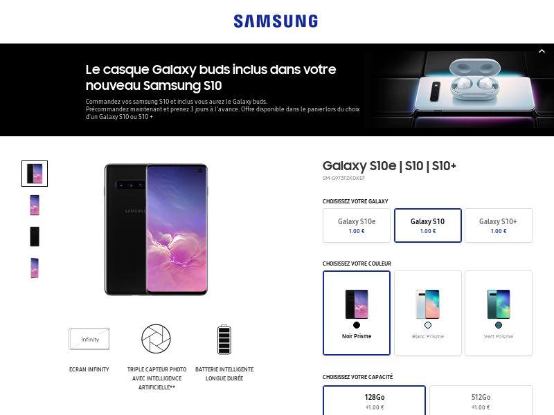 Samsung Galaxy S10 - FR (CPA)