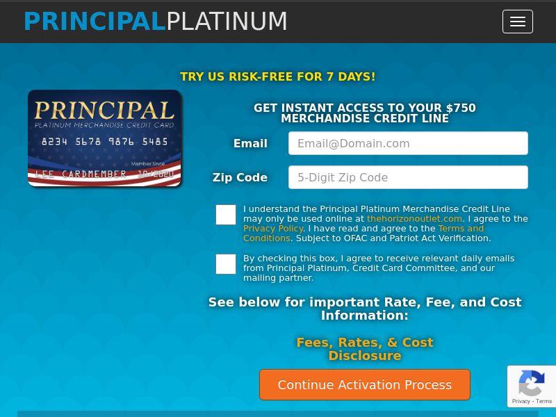 Principal Platinum - Long Form (US) (CPL) (Incent) (Personal Approval)