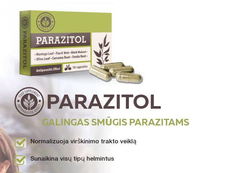Parazitol LT - anti-parasite product
