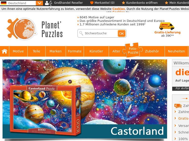 Planet Puzzles (AT,DE,LI,LU,CH), [CPS]