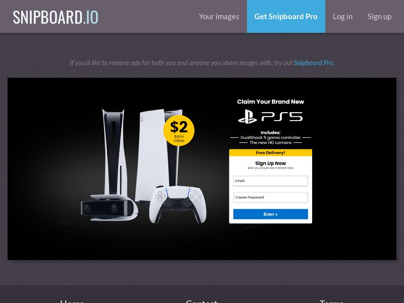 39740 - US - SmartTest - Win a PS5 - CC submit