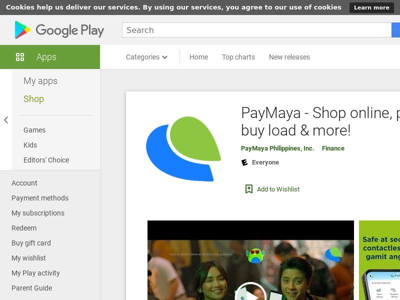 PayMaya Android CPE - PH