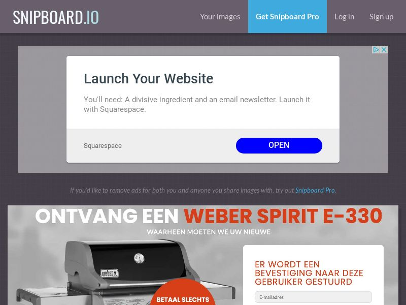 CoreSweeps - Weber Grill Spirit E-330 AT - CC Submit