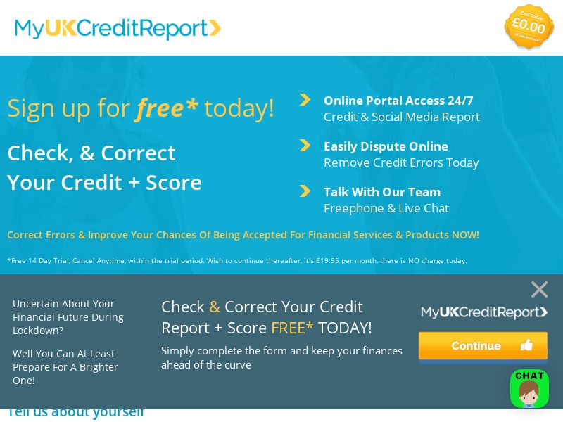 UK - Myukcredit- Email - CPL - {Proof Require }